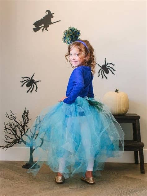 In Handmade Costume - kid s costume pretty peacock hgtv