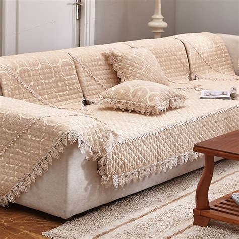 luxury couch covers 3style chenille sofa cover set 1pc printed sectional sofa