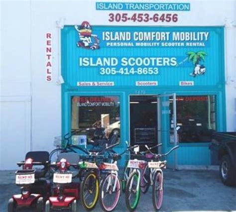 comfort mobility island comfort mobility mobility scooter bike rentals