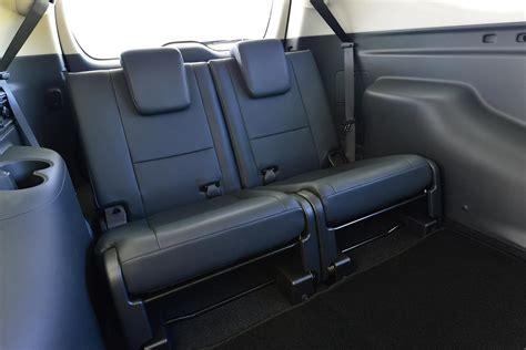 row seats sports 2016 mitsubishi pajero sport third row seats unveiled