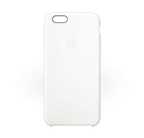 White Cas Ne apple iphone 6 white silicone original manufacturer