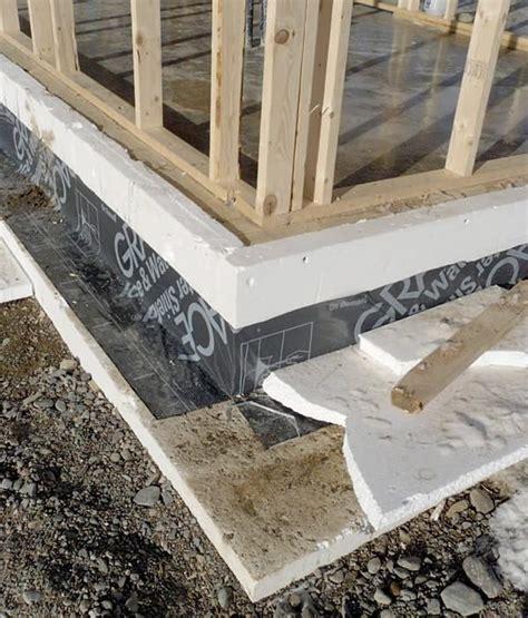 insulated slab foundation insulated slab