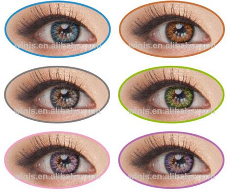 galaxy colored contacts galaxy color contact lens vassen ms korea soft contact