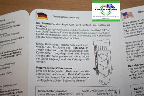 Motorrad Kette Oder Riemen by Se Cat Profi Laser Kettenflucht Riemenflucht Kette Riemen