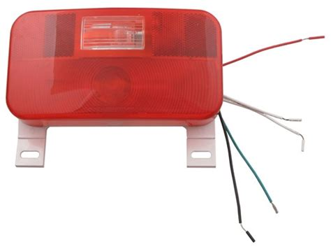 trailer license plate bracket with light cing travel trailer stop turn tail and back up
