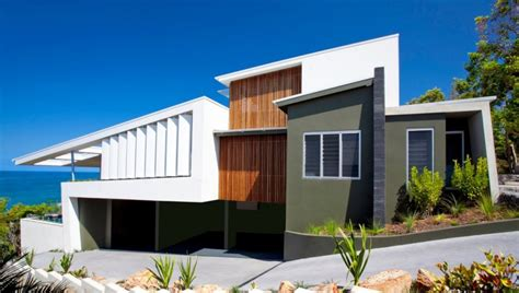 modern house design australia bold exterior beach house with minimalist interiors