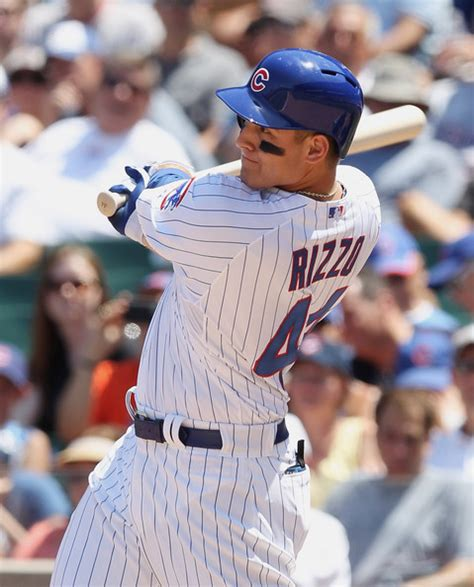 anthony rizzo swing anthony rizzo pictures new york mets v chicago cubs zimbio