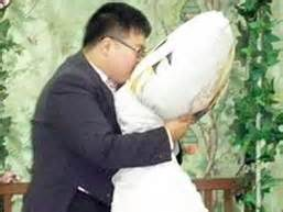 Korean Marries Pillow by Made For The Grave Investment March 2010
