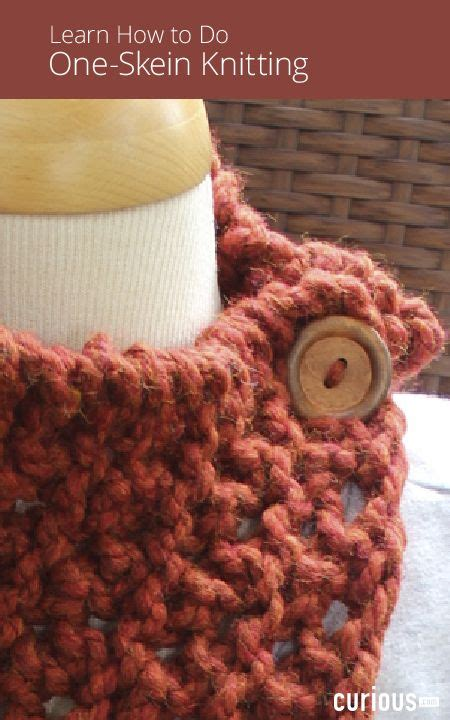 one skein knitting projects these one skein knitting projects are beginner friendly