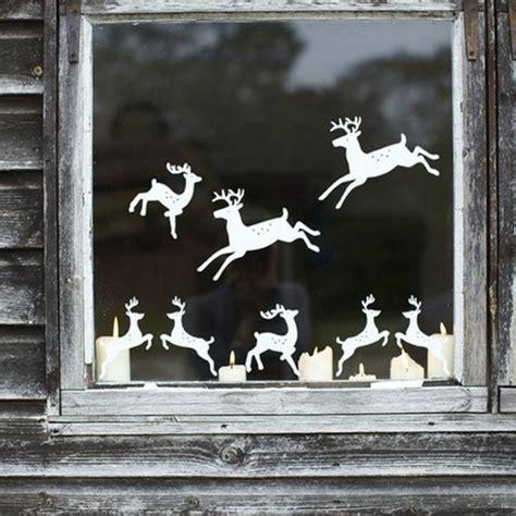 Fensterdeko Weihnachten Kerzen by Feine Fensterbilder Zu Weihnachten Und Winterzeit