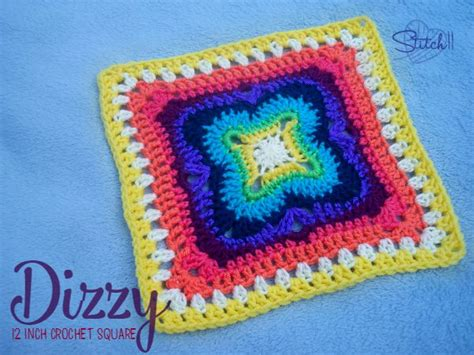 crochet hat patterns using magic circle squareone for dizzy 12 inch square stitch11