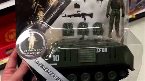 figure vehicles elite quot m 113 armored vehicle quot tank car with