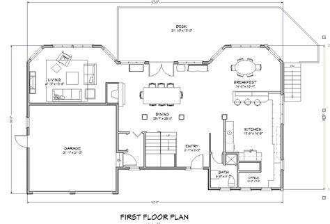 1 floor house plans beach house plan lake house plan cape cod beach house plan the house plan site