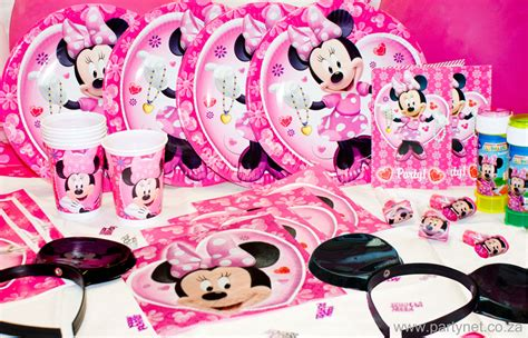 Minnie Mouse Birthday Giveaways - minnies 1st birthday party supplies minnie mouse caroldoey