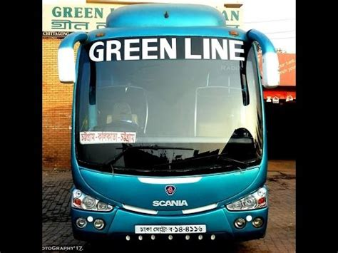 by way of the green line bus youtube green line volvo vs green line scania at chittagong coxs