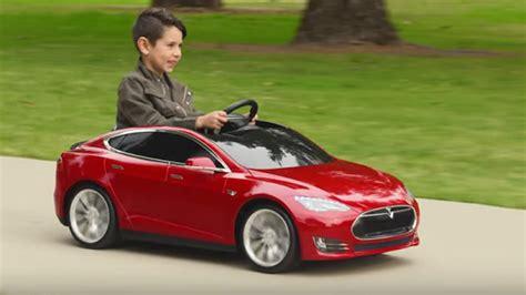 Mini Tesla Tesla Para Crian 231 As Aceleradas O Mini Tesla Model S