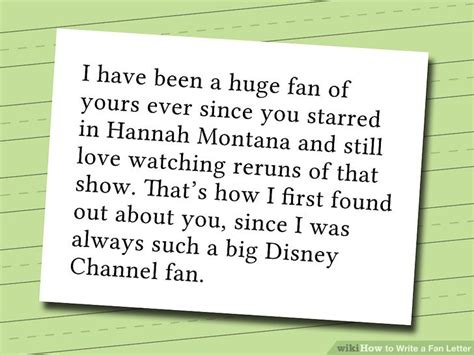 how do you write a tv show in a paper 2 easy ways to write a fan letter wikihow