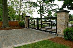 decorating awesome terrace with modern iron fences design and white brick iron fences and