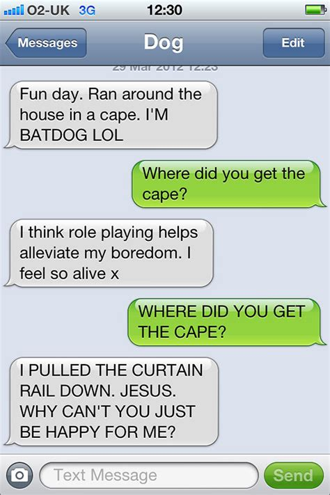 if dogs could text what if dogs could text 25 hilarious texts from dogs bored panda