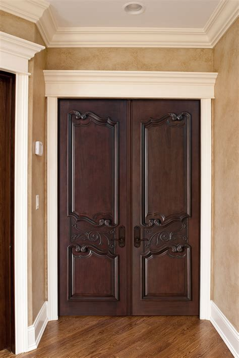 interior door custom solid wood with