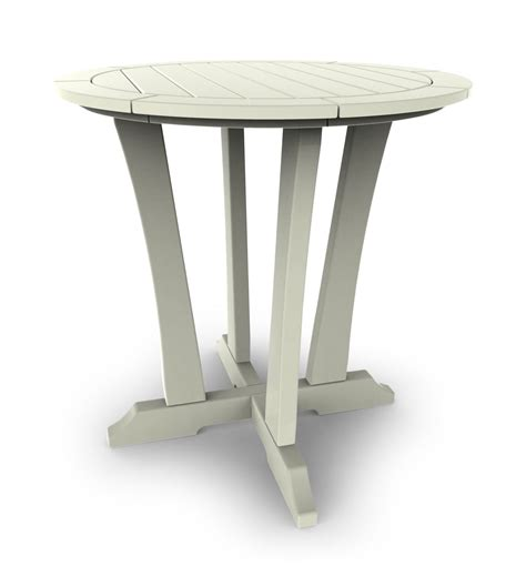 White Bistro Table Laguna 30 Bistro Table White Hom Furniture