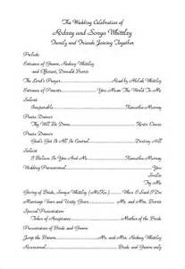 template for wedding ceremony program wedding ceremony program template 31 word pdf psd