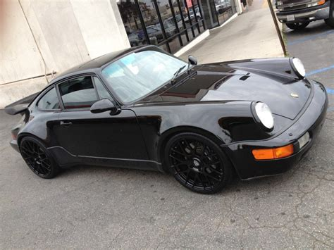 Porsche 964 Felgen by Black Porsche 964 Porsche Colored Porsche