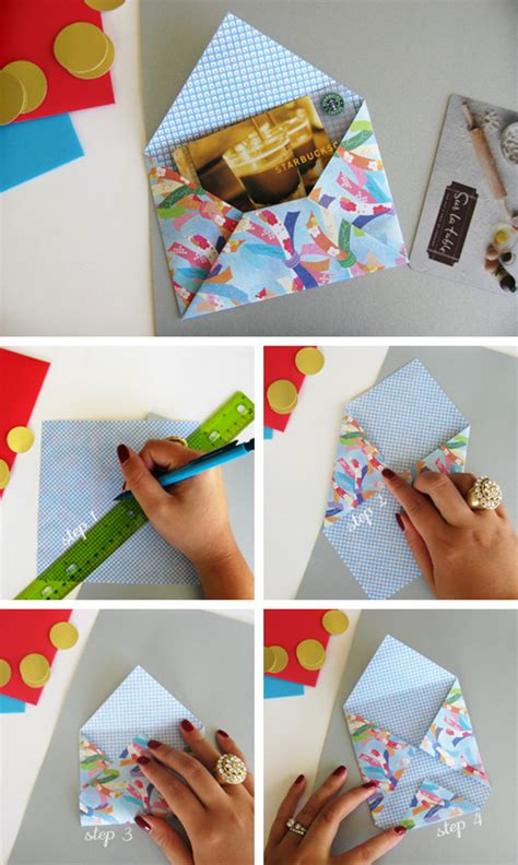 Craft Paper Envelope - origami envelope in crafts for home stationery and paper