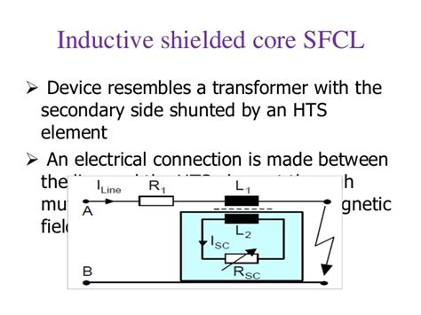 resistive type sfcl resistive type sfcl 28 images superconductor fault current limiter circuit breaker current