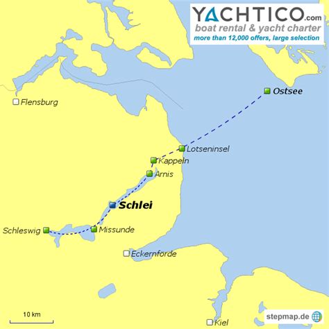 motorboot fahren in deutschland stepmap motorboot chartern und die schlei gegend auf dem