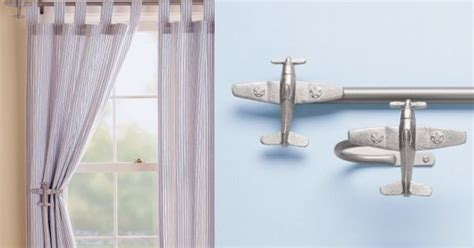 airplane curtain rod airplanes airplane curtain rods holdbacks ideas for