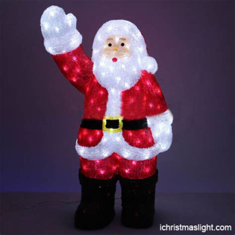 led santa claus ichristmaslight
