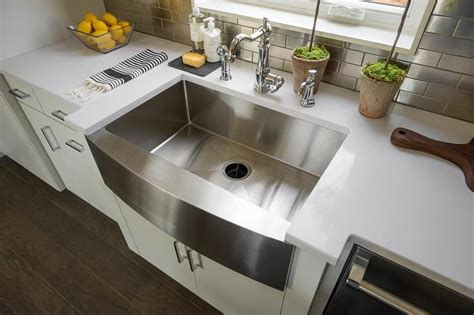 stainless steel apron sink with towel bar apron front stainless steel kitchen sink with towel bar