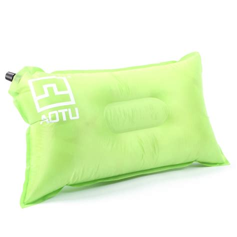 backpacking pillow self inflating cing pillow air bed cushion travel