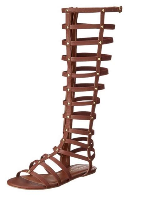 plus size knee high gladiator sandals madden shaft knee high boots style gladiator