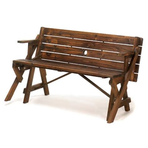 bench and picnic table picnic table converts park bench carefairs shopping