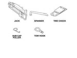 Spare Parts For Mini Cooper Mini Cooper Spare Tire Change Kit Gen1 Gen2 R50