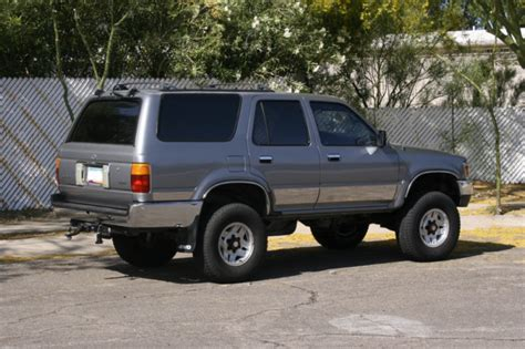 Lifted 93 Toyota Jdc 93 Toyota 4runner Project Build