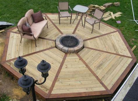 build  octagonal deck  projectsatobn
