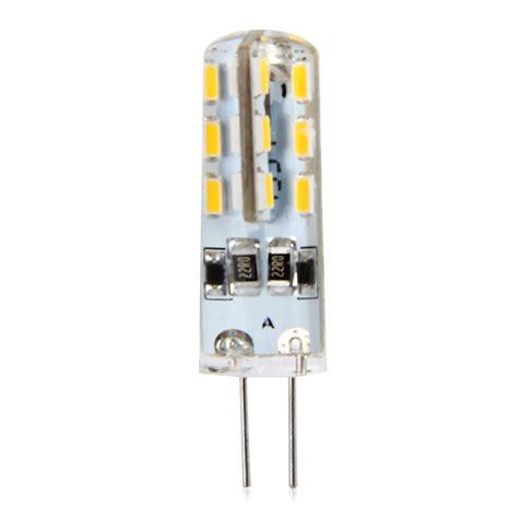 20pcs g4 base 24 led l bulb smd 3014 3w dc 12v white