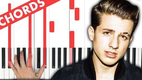 charlie puth how long chord how long charlie puth piano tutorial chords youtube