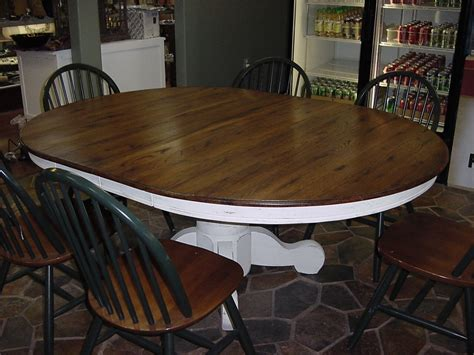 restoring dining room table how to refinish oak table brokeasshome