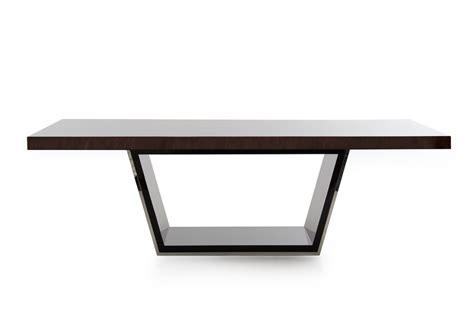 modrest christa modern high gloss dining table