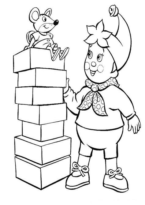 noddy coloring pages online noddy coloring pages coloringpages1001 com