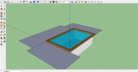 tutorial google sketchup español tutorial how to make a swimming pool in google sketchup