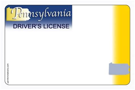 blank drivers license template 6 best images of drivers license printable template