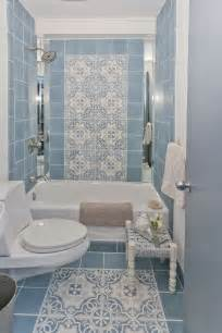 tiled shower ideas for bathrooms 40 vintage blue bathroom tiles ideas and pictures
