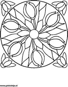 mandala informatie knutselen en kleurplaten