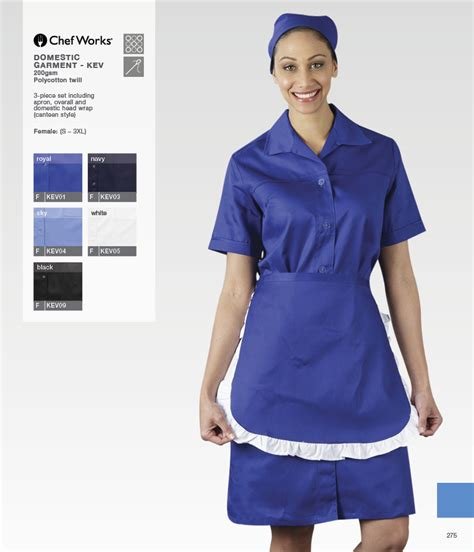 Set Overall 2in1 Navy 3 domestic cleaning staff uniforms