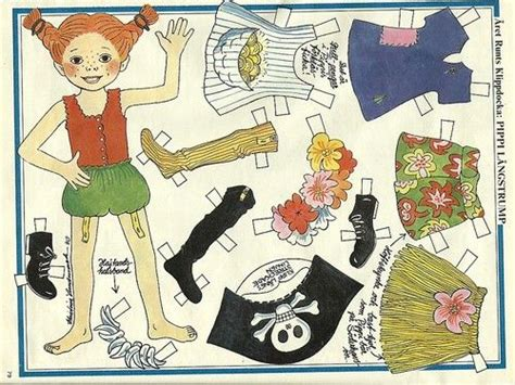 pippi longstocking dress template for card 17 best images about pippi on